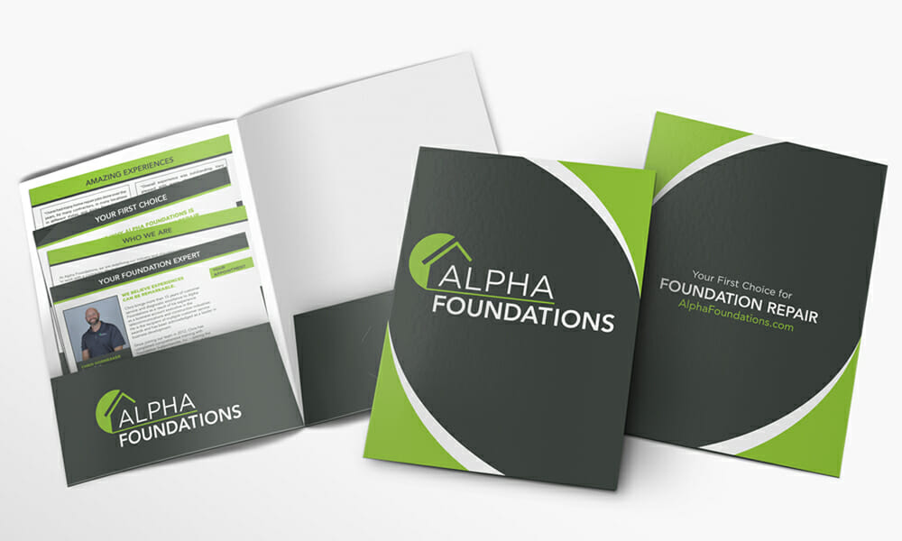 Collateral Folder Design Service