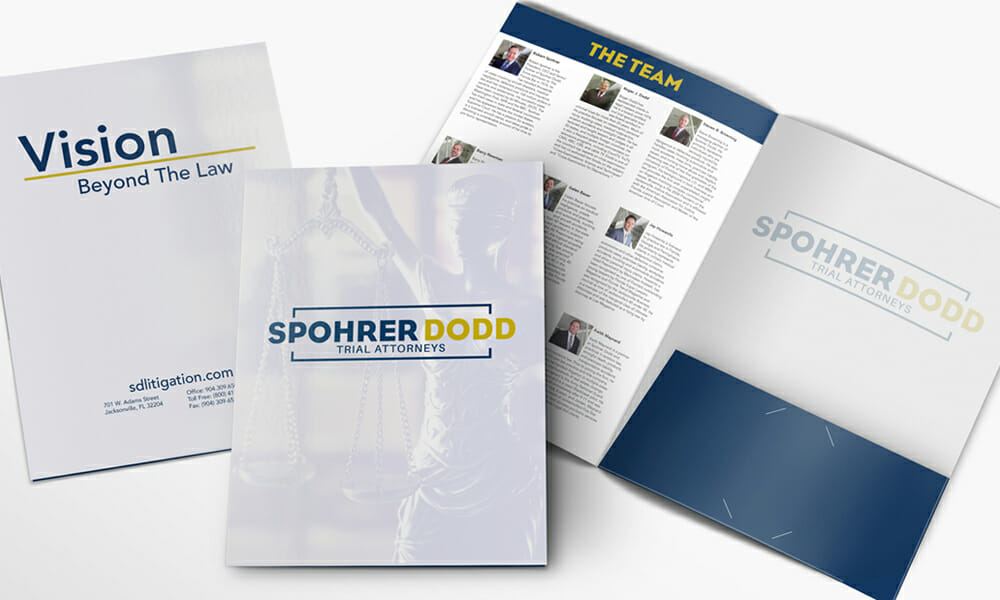 Collateral Folder Design Services
