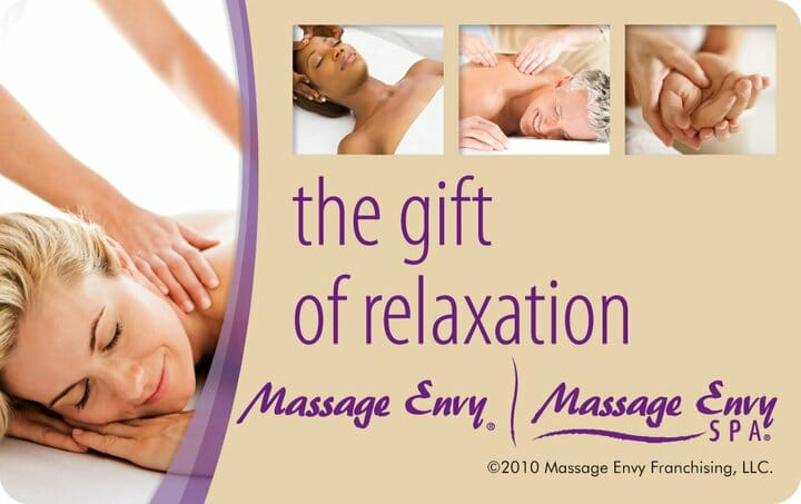 Massage Envy Giftcard